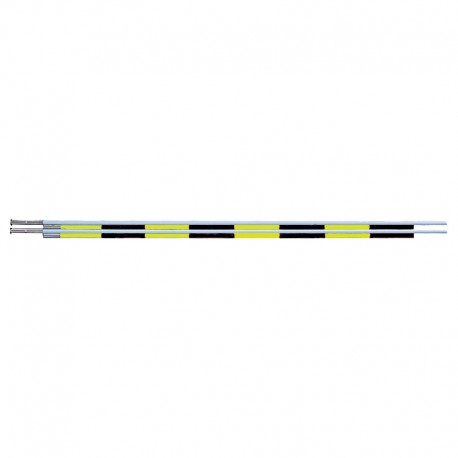 MIKASA TWO PIECE ANTENNAE YELLOW BLACK (PAIR)