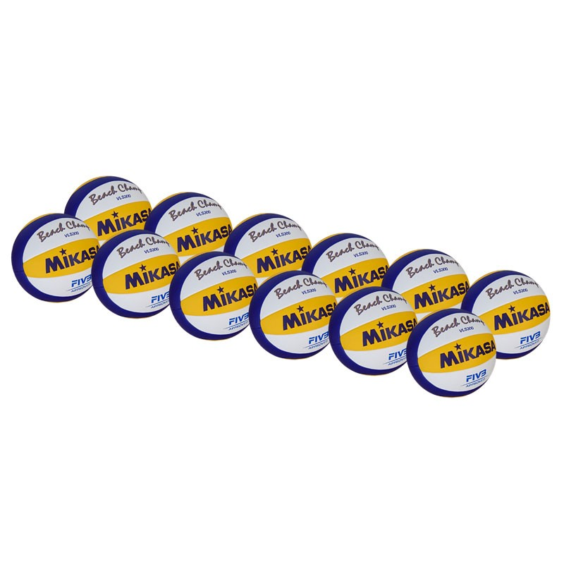 MIKASA VLS300 OUTDOOR OLYMPIC VOLLEYBALL 12 PACK