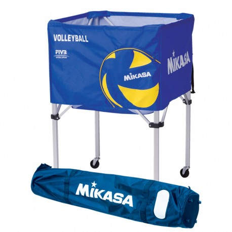 MIKASA TRI COLOURED BALL CART