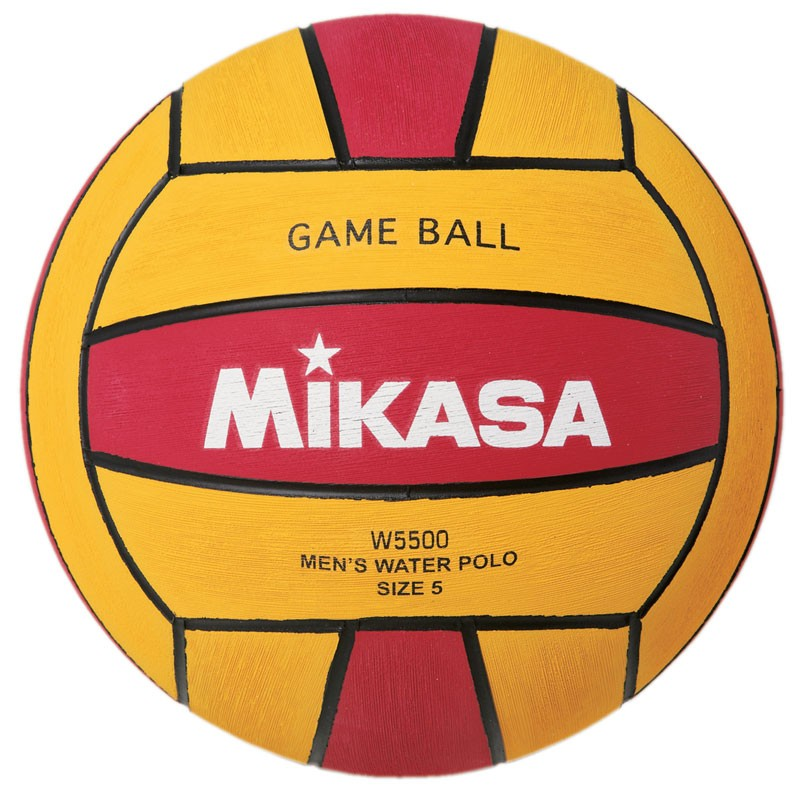MIKASA MENS WATER POLO BALL W500RED