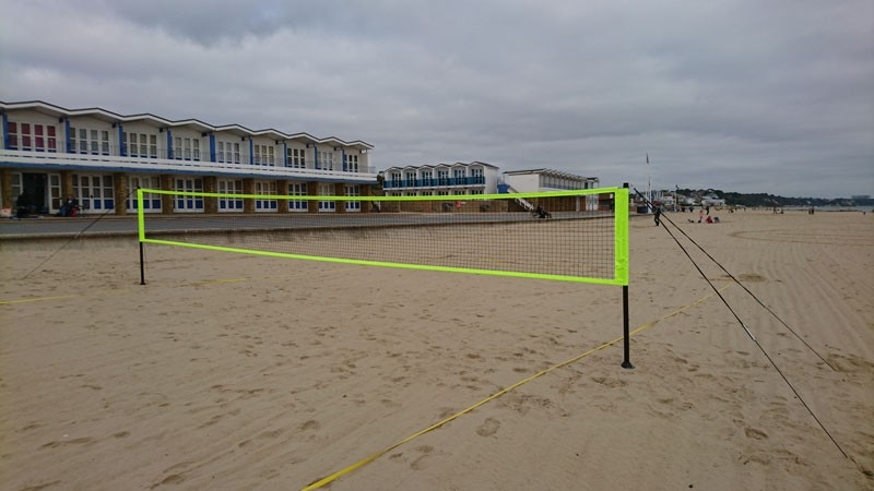 Net at Sandbanks