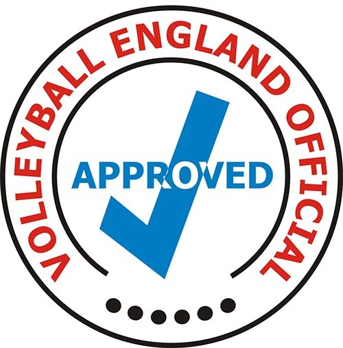 VOLLEYBALL ENGLAND OFFICIAL APPROVED