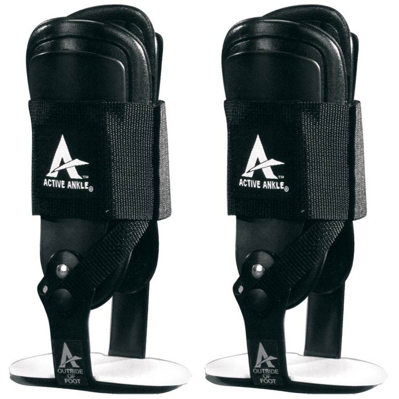 ACTIVE ANKLE T2 BLACK (Pair)