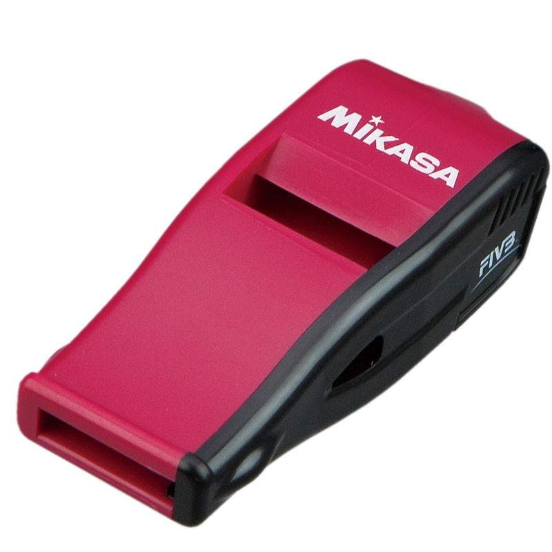 MIKASA BEATMASTER WHISTLE (Red-Black)
