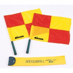 MIKASA LINE JUDGE FLAGS (SET OF 2)