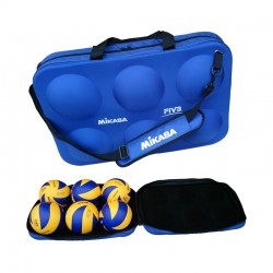 NEW MIKASA 6 BALL HARD BAG