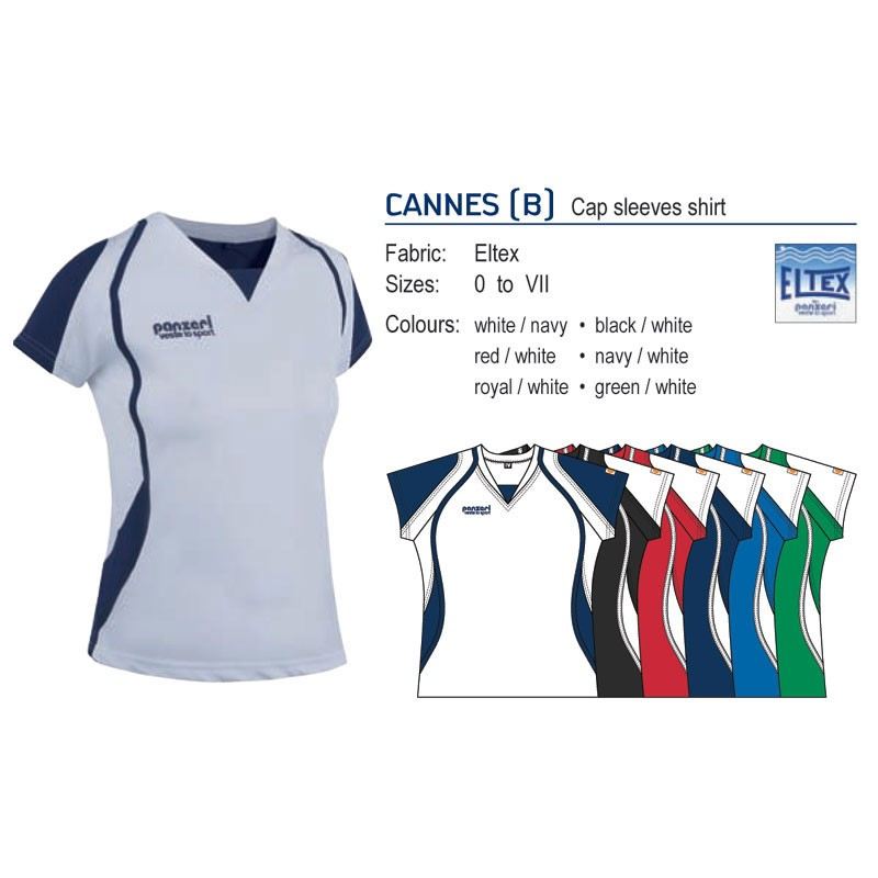 PANZERI CANNES B WOMENS SHIRT