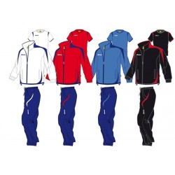 TEAM MIKASA RAYON TRACKSUIT WITH SHIRT & NUMBER