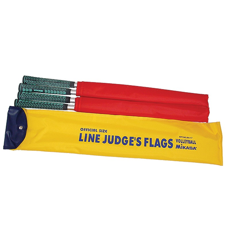 MIKASA LINE JUDGE FLAGS (SET OF 4)