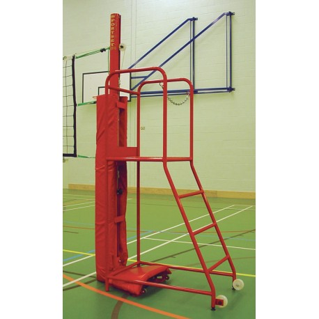 VOLLEYBALL UMPIRE  STAND  RED