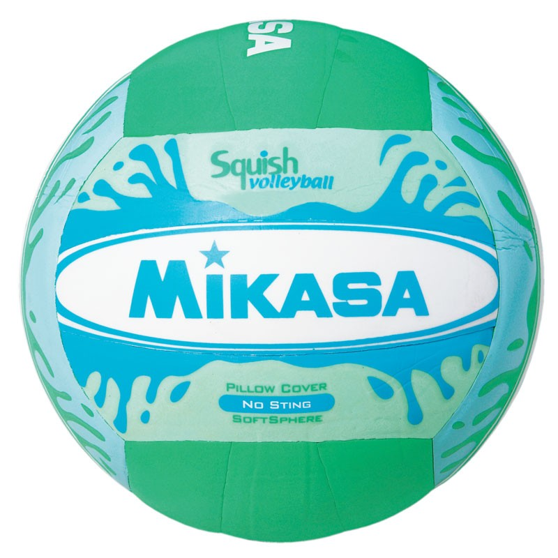 MIKASA SQUISH VOLLEYBALL GREEN