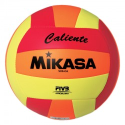 MIKASA OUTDOOR BALL RED/ORANGE/LIME