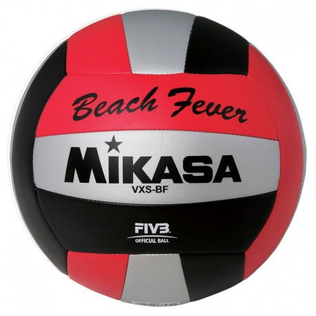 MIKASA OUTDOOR BALL RED/BLK/SILVER