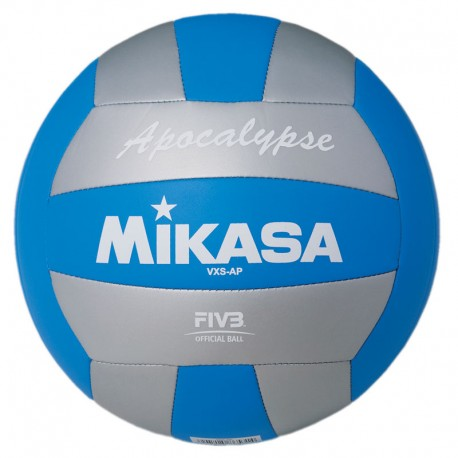 MIKASA OUTDOOR BALL SILVER/BLUE